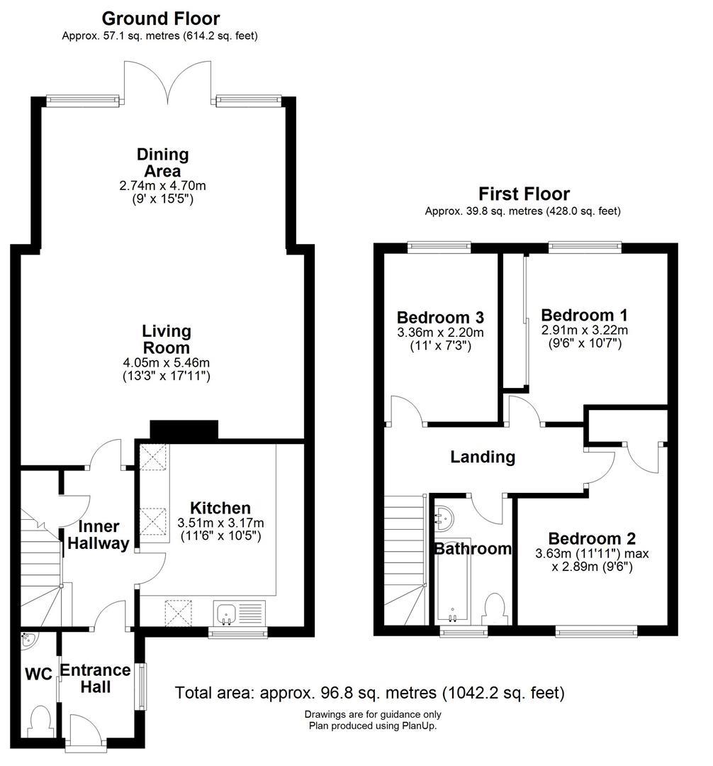 Floor plan The Paddocks, Burwell, Cambridge